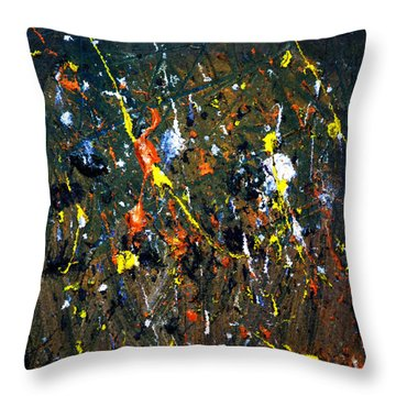 Meadow Throw Pillow by Jason Michael Roust