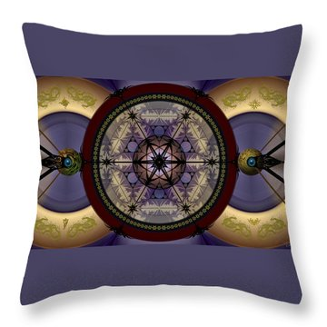 Mechanical Wonder Throw Pillow