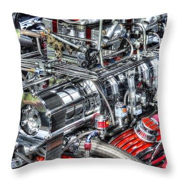 Mechanics Throw Pillow by Bill Wakeley