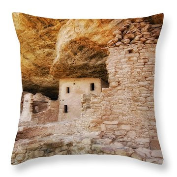 Meda Verde  Iv Throw Pillow