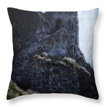 Medieval Chapel Throw Pillow by Joana Kruse