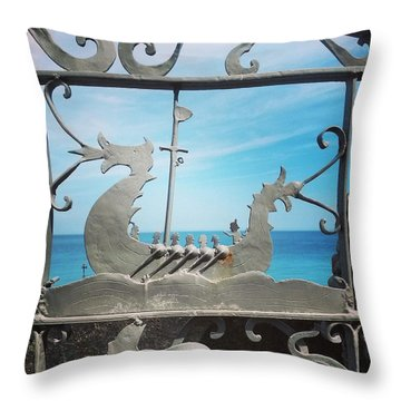 Medieval  Throw Pillow