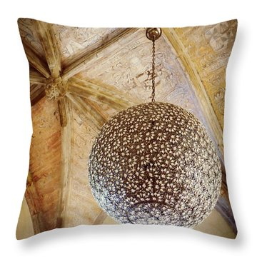Medieval Modern Throw Pillow by Valerie Reeves