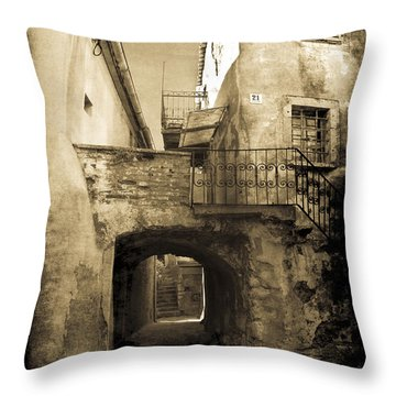Medieval Croatia Throw Pillow