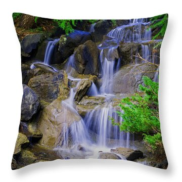 Meditation Moment Throw Pillow