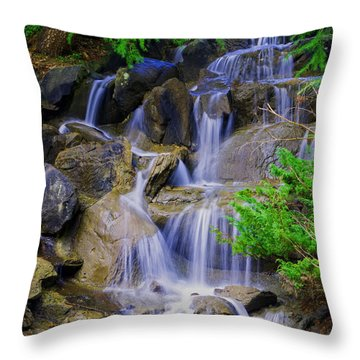 Meditation Moment Throw Pillow