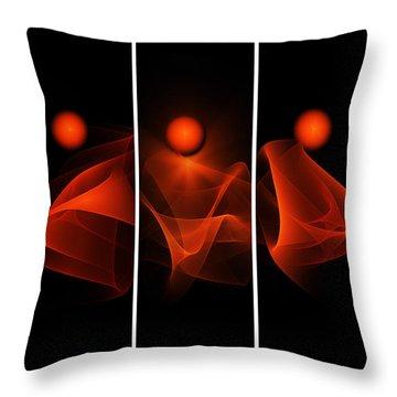 Meditations Throw Pillow