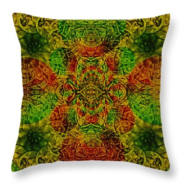 Meditate Throw Pillow