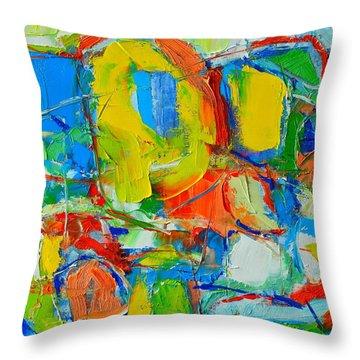 Mediterranean Wings Throw Pillow by Ana Maria Edulescu