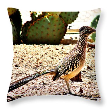 Meep Meep Throw Pillow