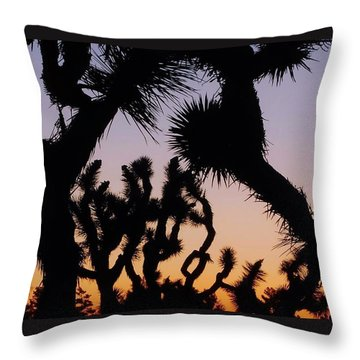 Meet And Greet Throw Pillow by Angela J Wright