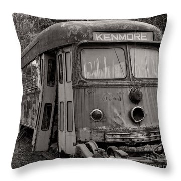 Meet Me In Kenmore Square Throw Pillow
