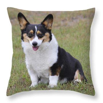 Meet Trixie Throw Pillow