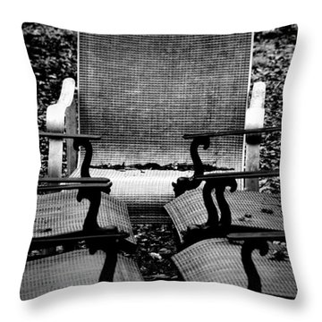 Meeting Adjourned Throw Pillow by David Weeks