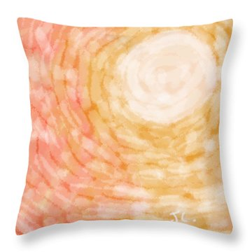 Meeting  Throw Pillow