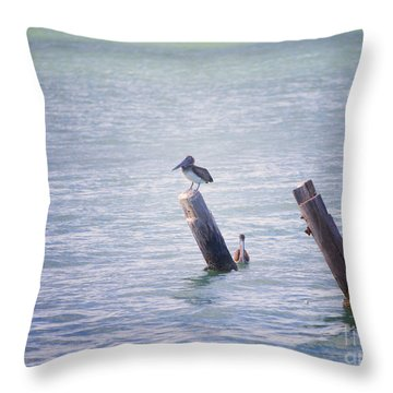 Throw Pillow featuring the photograph Meeting Place by Erika Weber