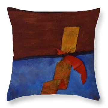 Meeting Point Throw Pillow
