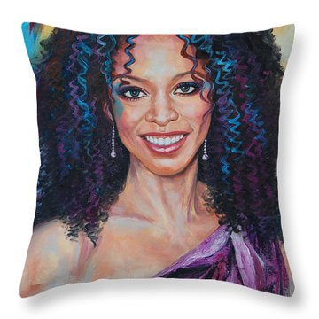 Meika Throw Pillow by Anju Saran