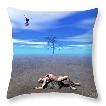 Melancholia 1 Throw Pillow