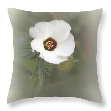 Melanie Throw Pillow by Elaine Teague