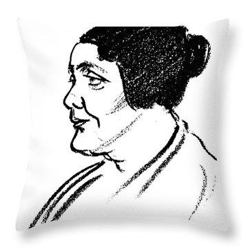 Melanie Klein (1882-1960) Throw Pillow