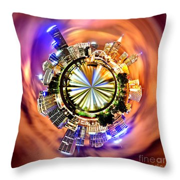 Melbourne Central Throw Pillow
