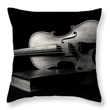 Melodiously Poetic Throw Pillow