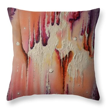 Melt Throw Pillow