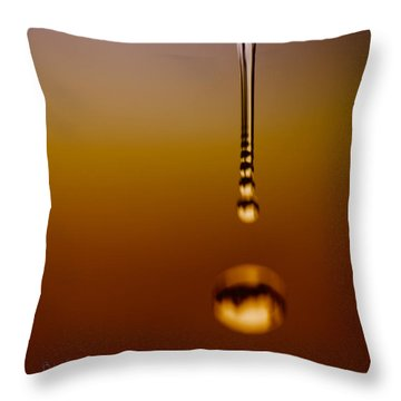 Melt Three Throw Pillow by Bob Orsillo