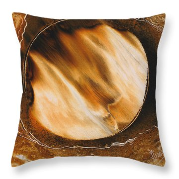 Meltdown Throw Pillow