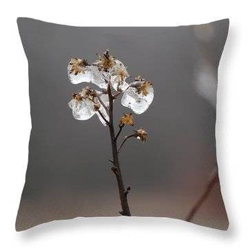 Melting Away Throw Pillow