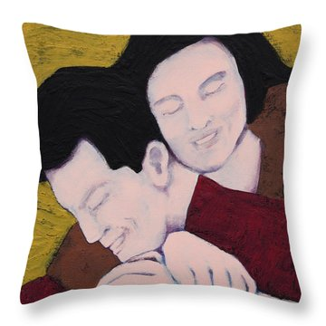 Melting Into You Throw Pillow