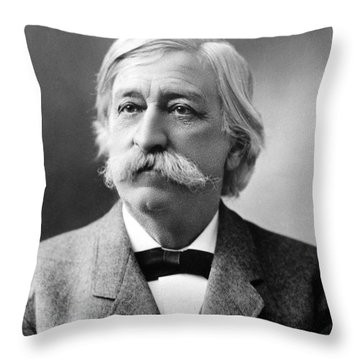 Melville Fuller  Throw Pillow by Granger