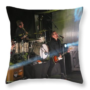 Members  Of Newsong Throw Pillow