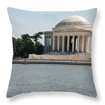Memorial By The Water Throw Pillow