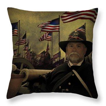 Memorial Day - Remembering The Fallen Throw Pillow