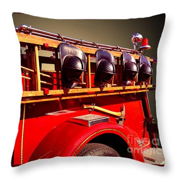 Memorial To Our Fallen Heroes Throw Pillow by Jim Carrell
