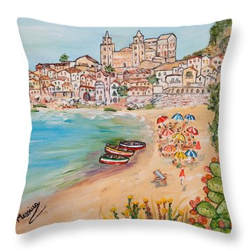 Memorie D'estate Throw Pillow