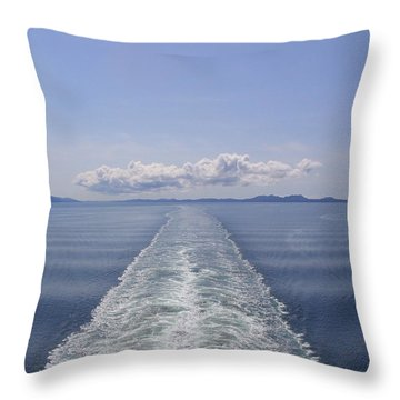 Memories Throw Pillow by Brian Williamson
