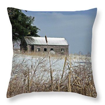 Throw Pillow featuring the photograph Memories by Christian Mattison