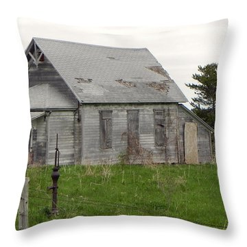 Throw Pillow featuring the photograph Memories by Deb Halloran