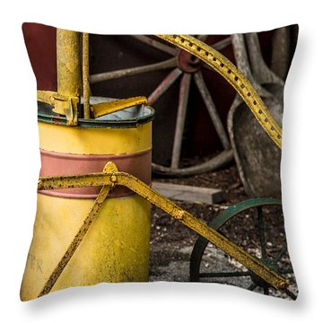 Memories From Days Past Throw Pillow