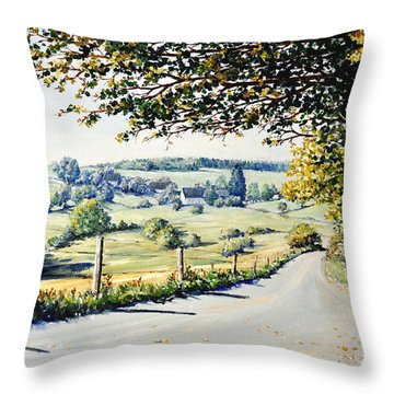 Memories Throw Pillow by Heidi Kriel