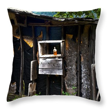Throw Pillow featuring the photograph Memories In Amber by Sandi Mikuse