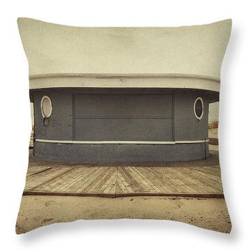 Memories In The Sand Throw Pillow