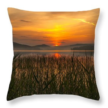 Peace Of Mind Throw Pillow by Rose-Maries Pictures