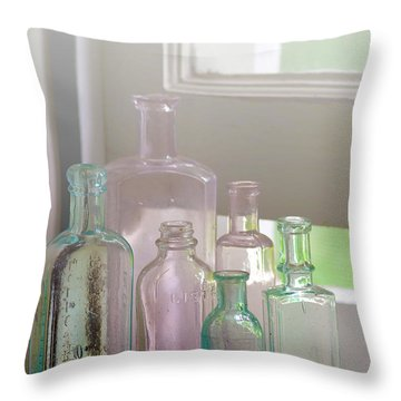Memories Of Forgotten Times.. Throw Pillow
