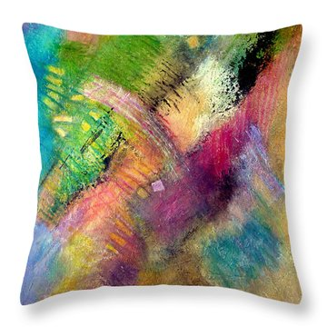 Memories Of My Youth #2 Throw Pillow by Jim Whalen