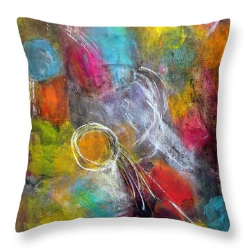 Memories Of My Youth Throw Pillow
