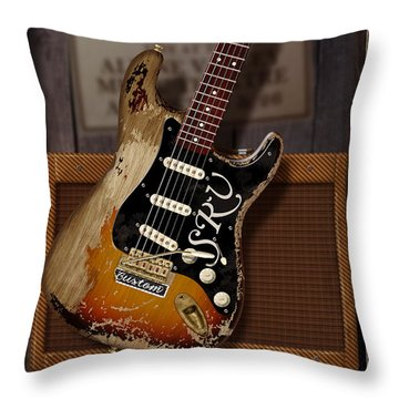 Memories Of Stevie Throw Pillow